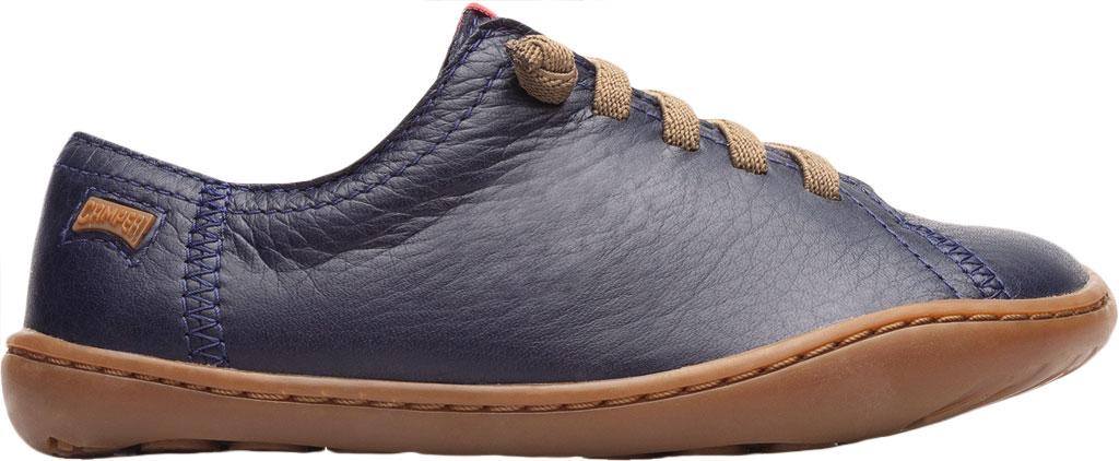 Boys' Camper Peu Sneaker - Little Kid, Blue Calf Full Grain Leather, large, image 2