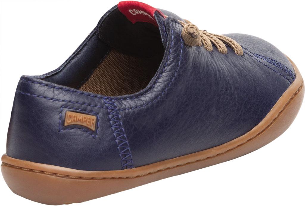 Boys' Camper Peu Sneaker - Little Kid, Blue Calf Full Grain Leather, large, image 3