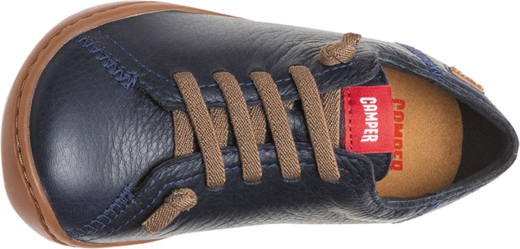 Boys' Camper Peu Sneaker - Little Kid, Blue Calf Full Grain Leather, large, image 4