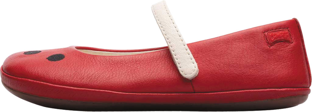 Girls' Camper Twins Mary Jane - Little Kid, Red Calf Full Grain Leather, large, image 3