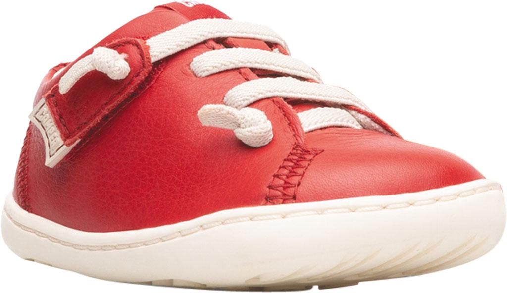 Infant Boys' Camper Peu Sneaker - First Walker, Red Calf Full Grain Leather, large, image 1