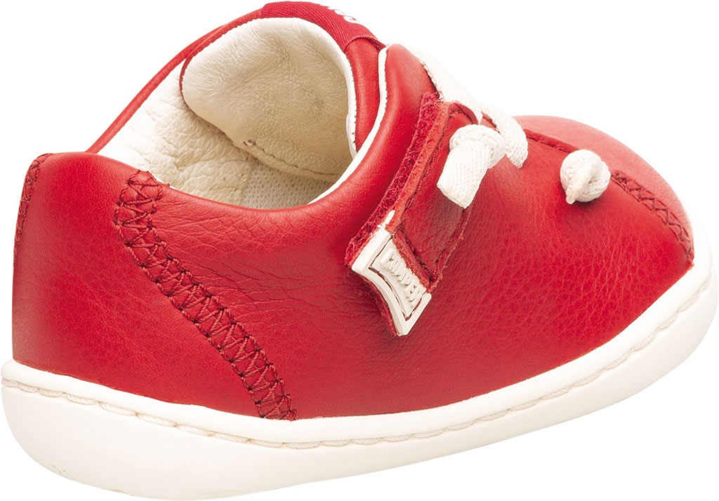 Infant Boys' Camper Peu Sneaker - First Walker, Red Calf Full Grain Leather, large, image 3