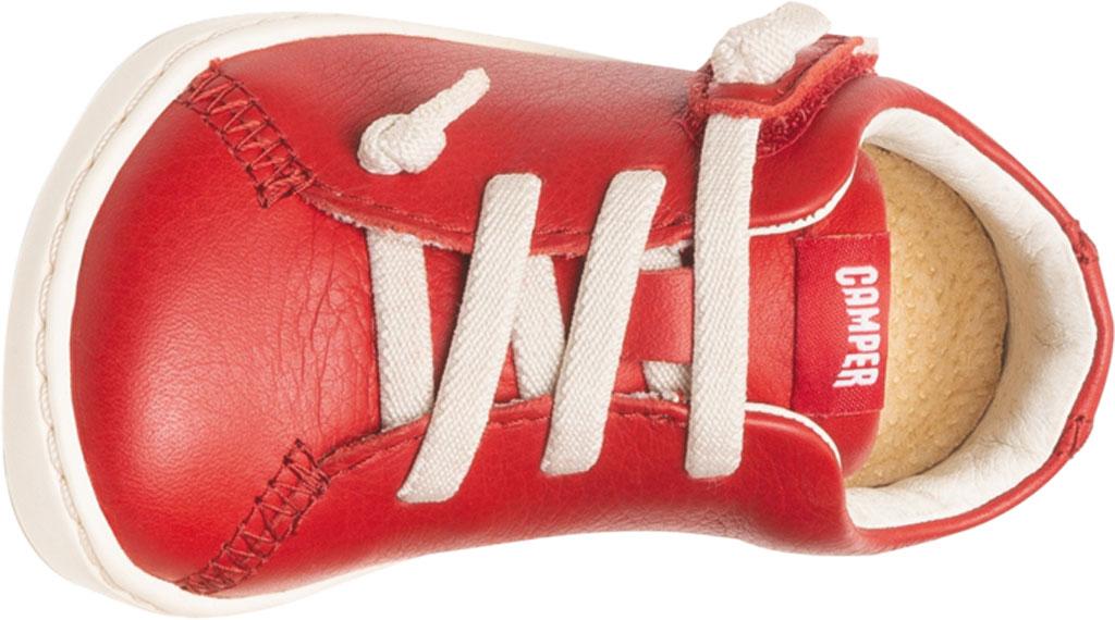 Infant Boys' Camper Peu Sneaker - First Walker, Red Calf Full Grain Leather, large, image 4