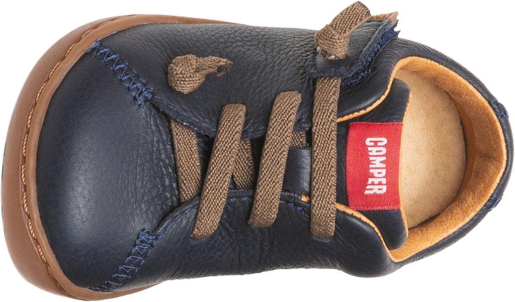 Infant Boys' Camper Peu Sneaker - First Walker, Blue Calf Full Grain Leather, large, image 4