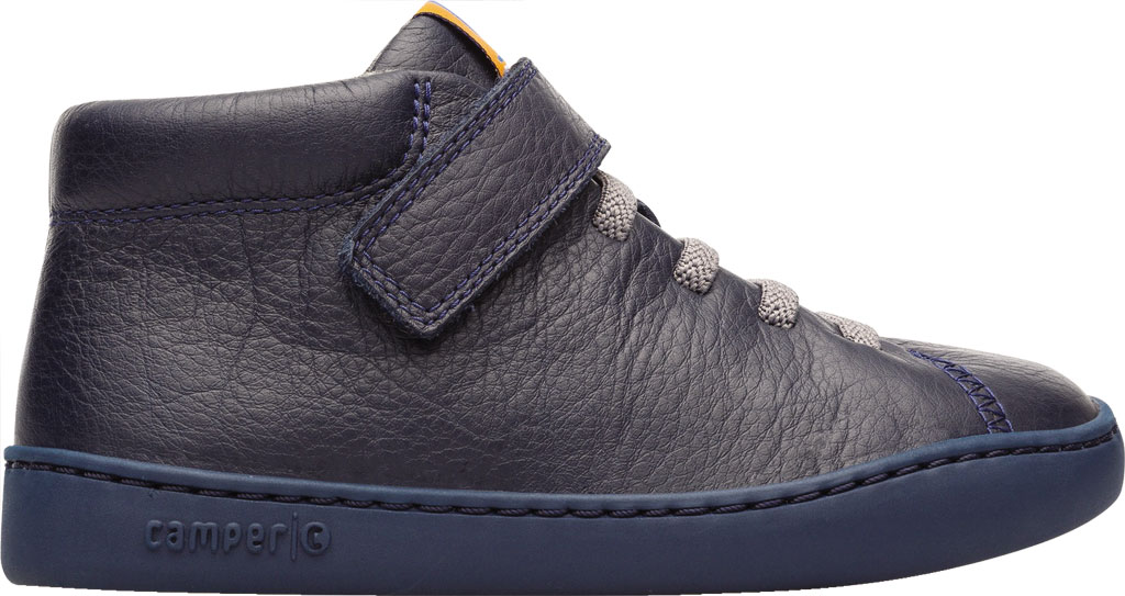 Boys' Camper Peu Touring Ankle Boot - Little Kid, Blue Calf Full Grain Leather, large, image 2
