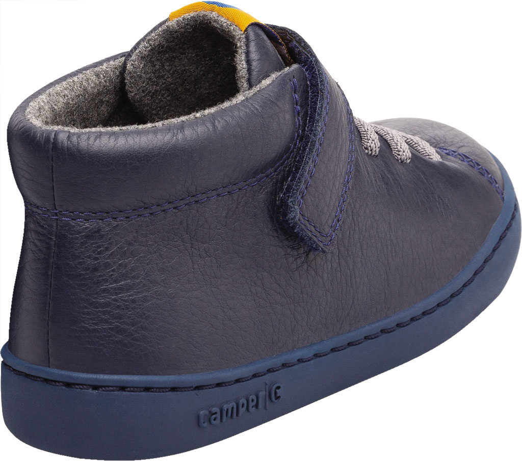 Boys' Camper Peu Touring Ankle Boot - Little Kid, Blue Calf Full Grain Leather, large, image 3