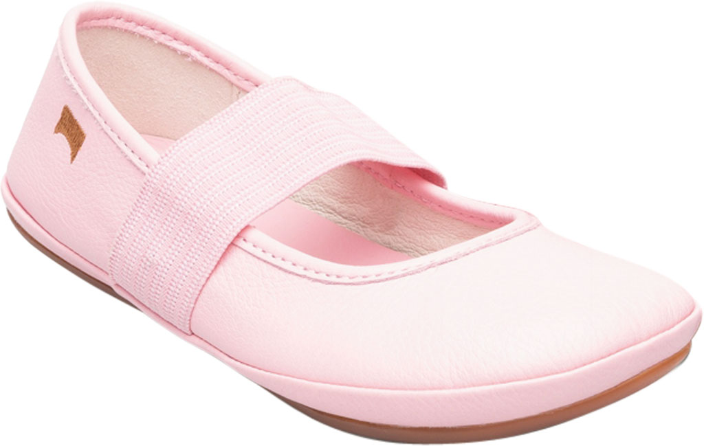 Girls' Camper Right Mary Jane - Little Kid, Pink Calf Full Grain Leather, large, image 1