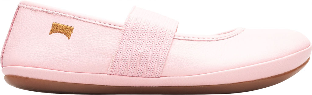 Girls' Camper Right Mary Jane - Little Kid, Pink Calf Full Grain Leather, large, image 2