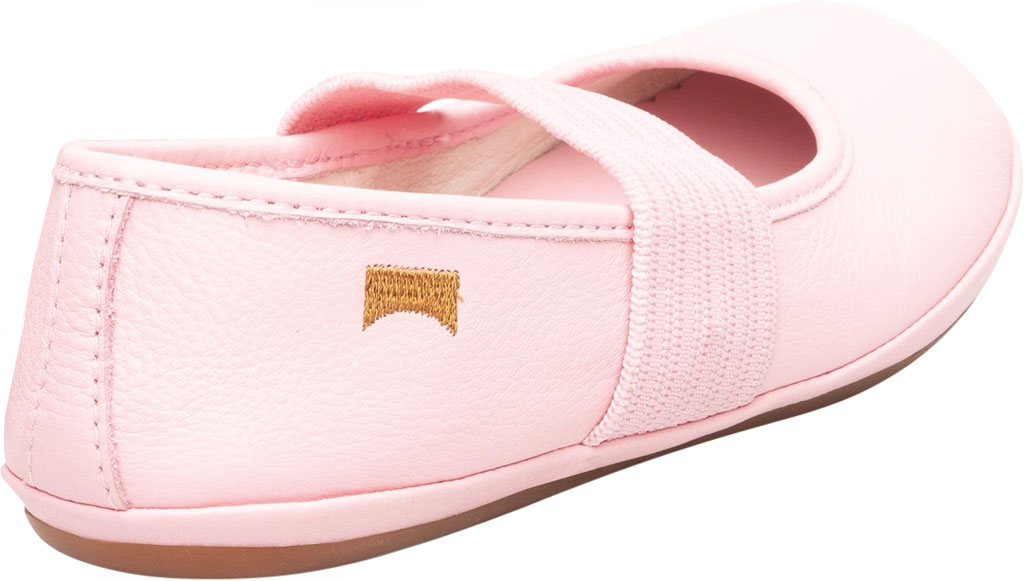 Girls' Camper Right Mary Jane - Little Kid, Pink Calf Full Grain Leather, large, image 3