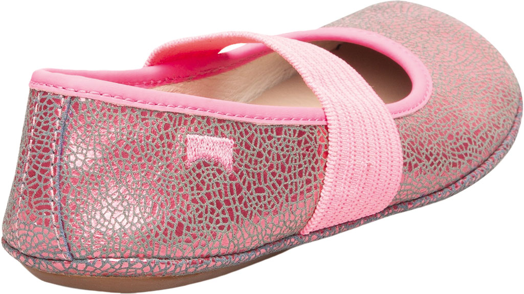 Girls' Camper Right Mary Jane - Little Kid, Pink Print Calf Full Grain Leather, large, image 3