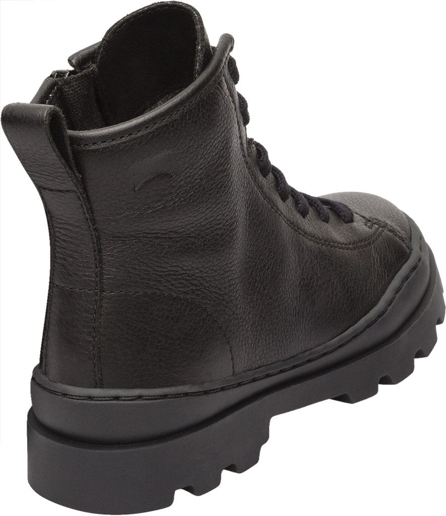 Children's Camper Brutus Ankle Boot - Little Kid, Black Calf Full Grain Leather, large, image 3
