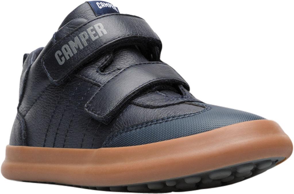 Boys' Camper Pursuit Sneaker - Little Kid, Blue Calf Full Grain Leather/Fabric, large, image 1