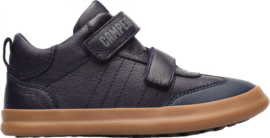 Boys' Camper Pursuit Sneaker - Little Kid, Blue Calf Full Grain Leather/Fabric, large, image 2