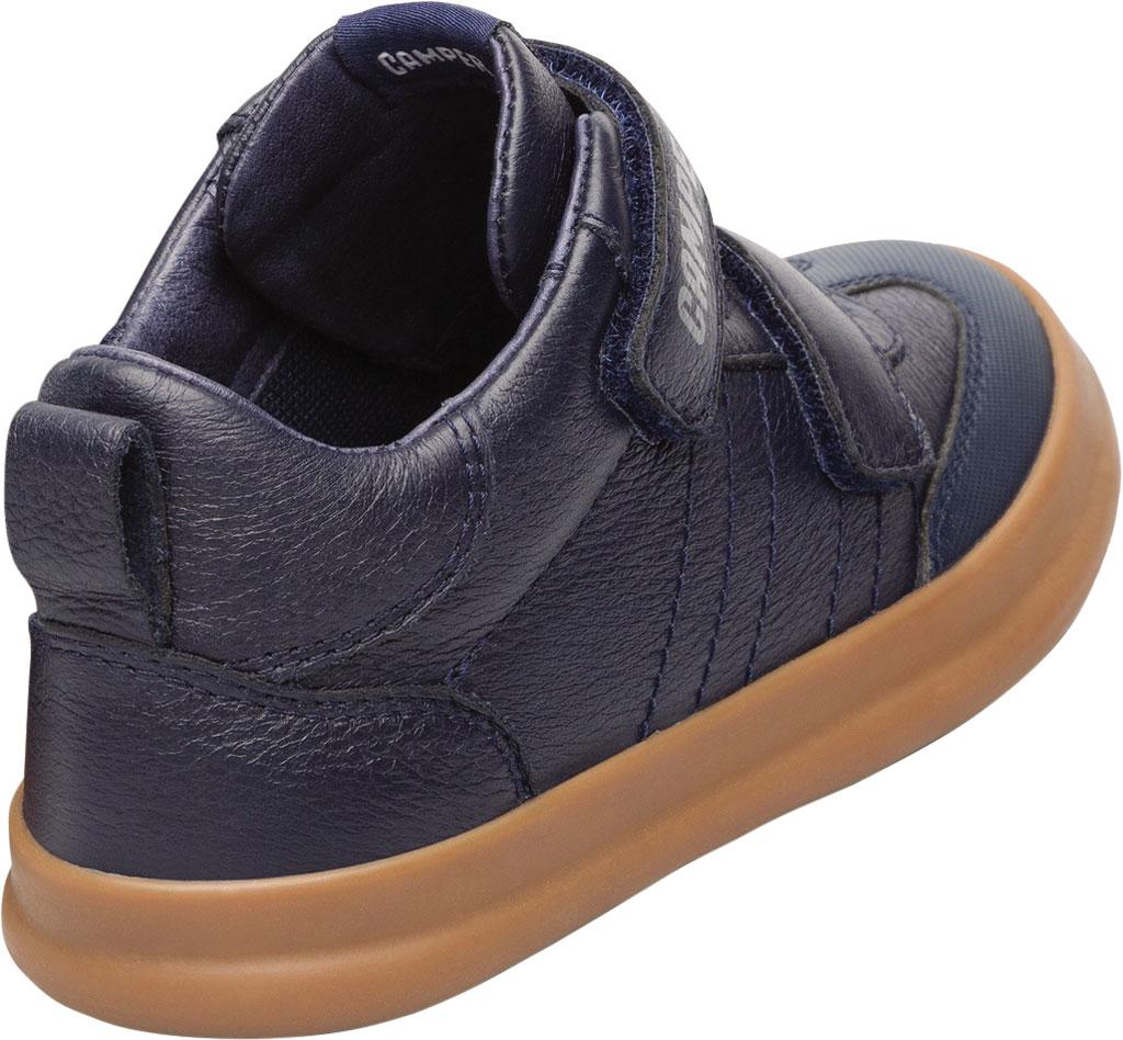 Boys' Camper Pursuit Sneaker - Little Kid, Blue Calf Full Grain Leather/Fabric, large, image 3