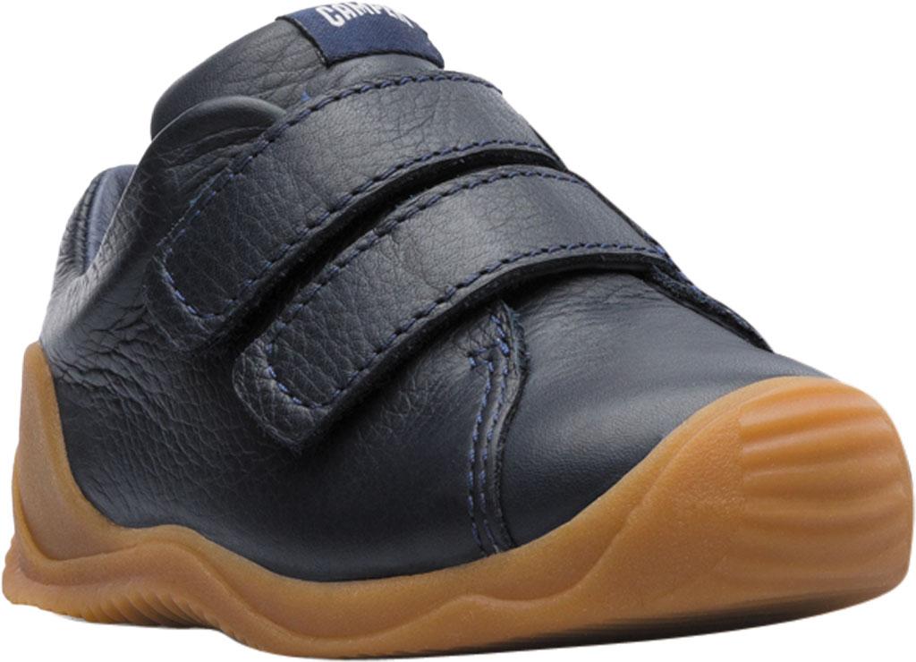 Infant Boys' Camper Dadda Two Strap Sneaker - First Walker, Blue Calf Full Grain Leather, large, image 1
