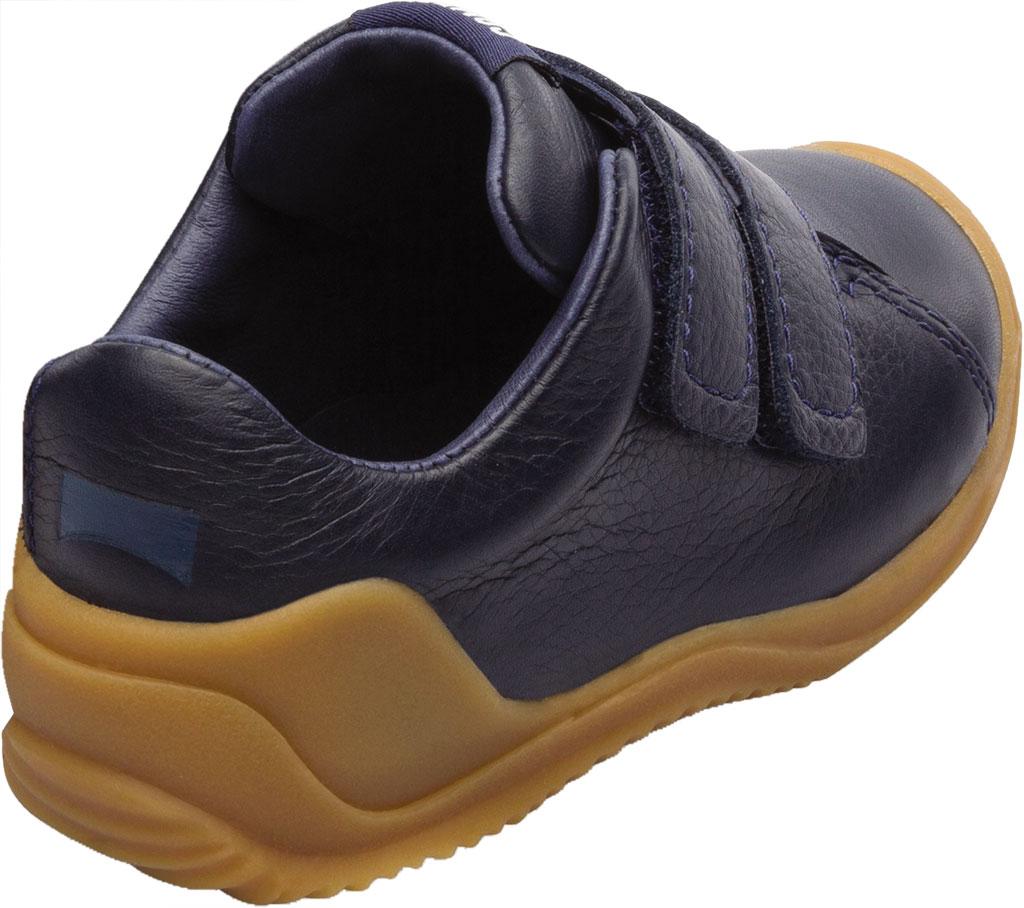Infant Boys' Camper Dadda Two Strap Sneaker - First Walker, Blue Calf Full Grain Leather, large, image 3