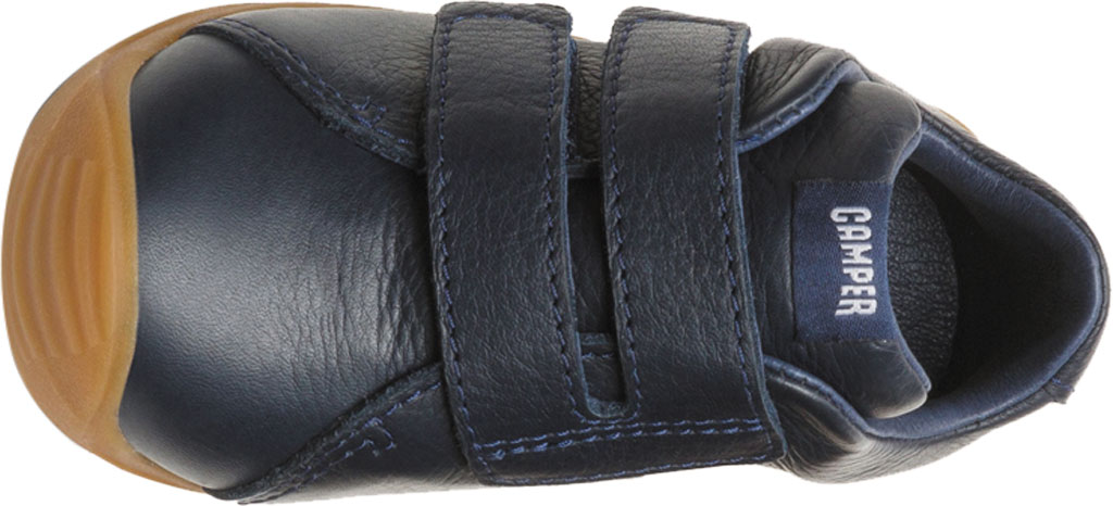 Infant Boys' Camper Dadda Two Strap Sneaker - First Walker, Blue Calf Full Grain Leather, large, image 4