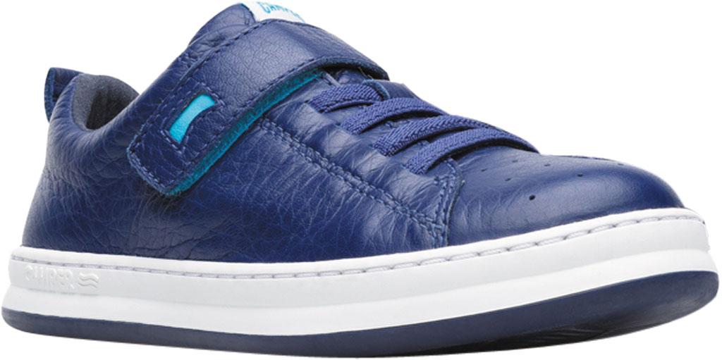Boys' Camper Runner Sneaker - Little Kid, Blue Calf Full Grain Leather, large, image 1