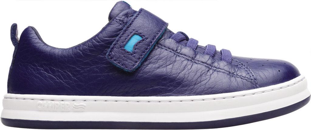 Boys' Camper Runner Sneaker - Little Kid, Blue Calf Full Grain Leather, large, image 2