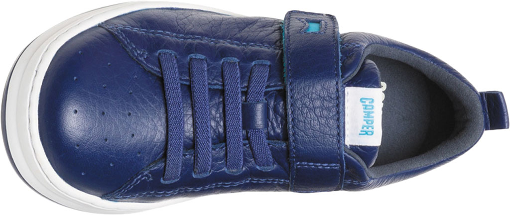 Boys' Camper Runner Sneaker - Little Kid, Blue Calf Full Grain Leather, large, image 4