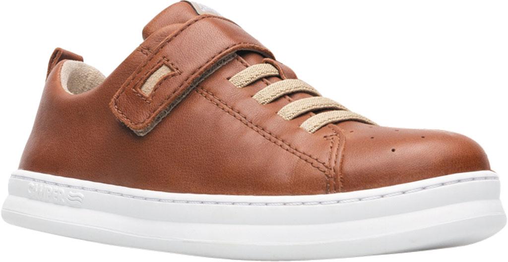 Boys' Camper Runner Sneaker - Little Kid, Brown Calf Full Grain Leather, large, image 1
