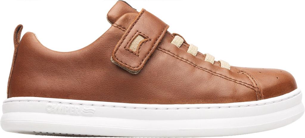 Boys' Camper Runner Sneaker - Little Kid, Brown Calf Full Grain Leather, large, image 2