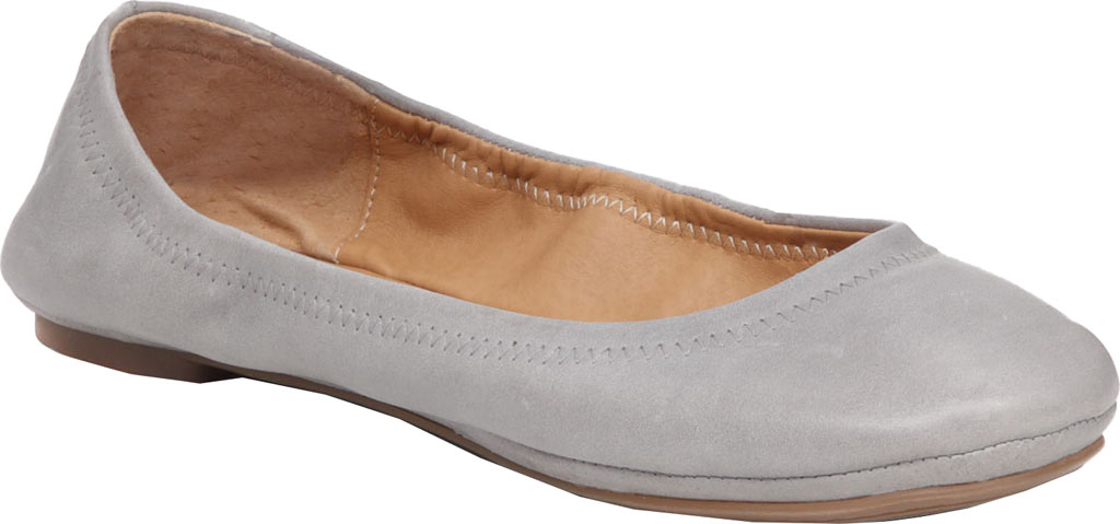 Women's Lucky Brand Emmie Flat, Driftwood Leather, large, image 1