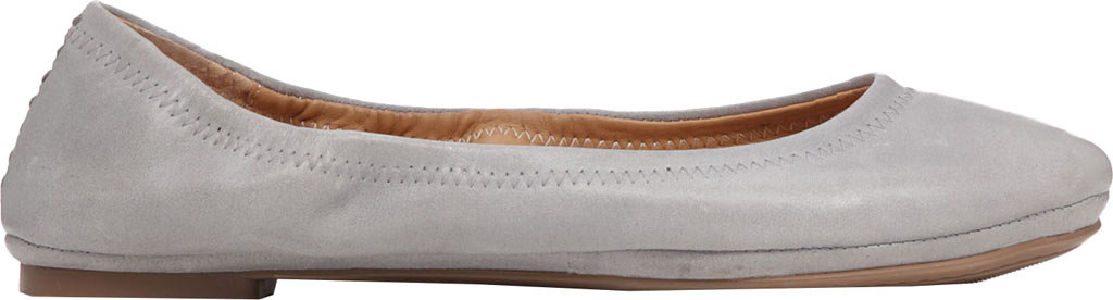 Women's Lucky Brand Emmie Flat, Driftwood Leather, large, image 2