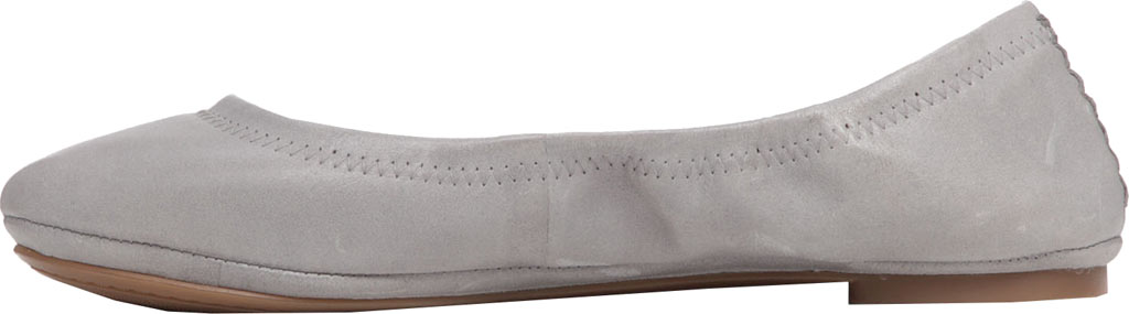Women's Lucky Brand Emmie Flat, Driftwood Leather, large, image 3