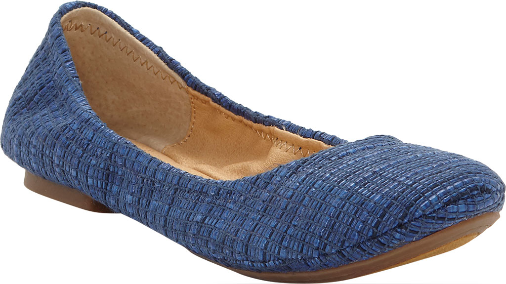 Women's Lucky Brand Emmie Flat, Limoges Pala Woven Fabric, large, image 1