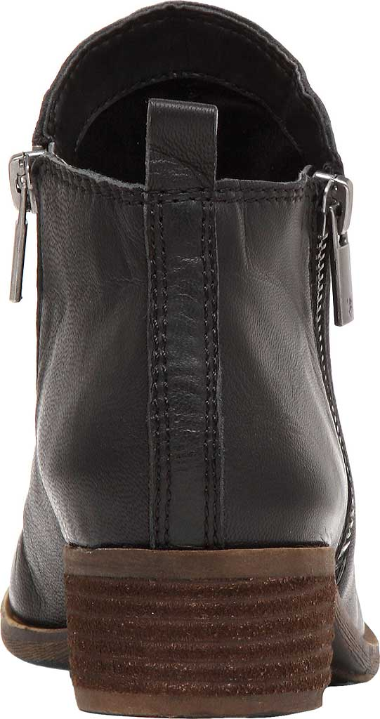 Women's Lucky Brand Basel Bootie, Black Leather, large, image 4