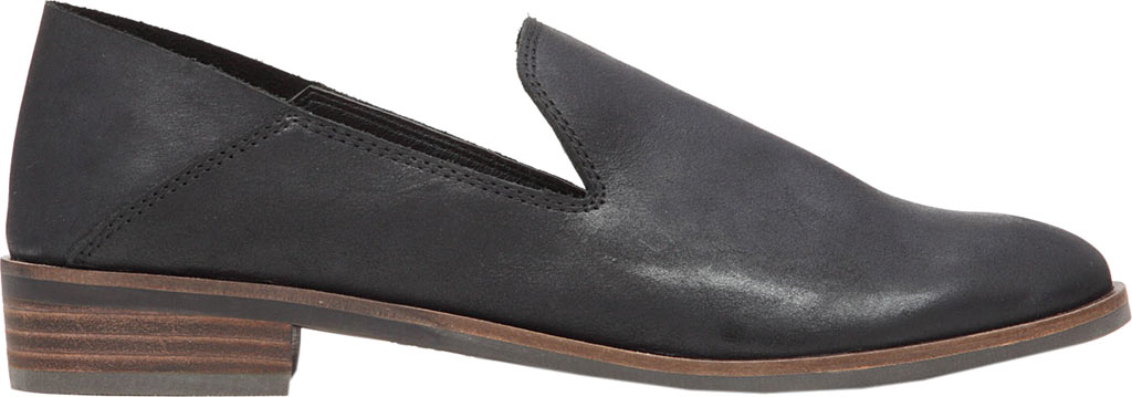 Women's Lucky Brand Cahill Loafer, Black Leather, large, image 2
