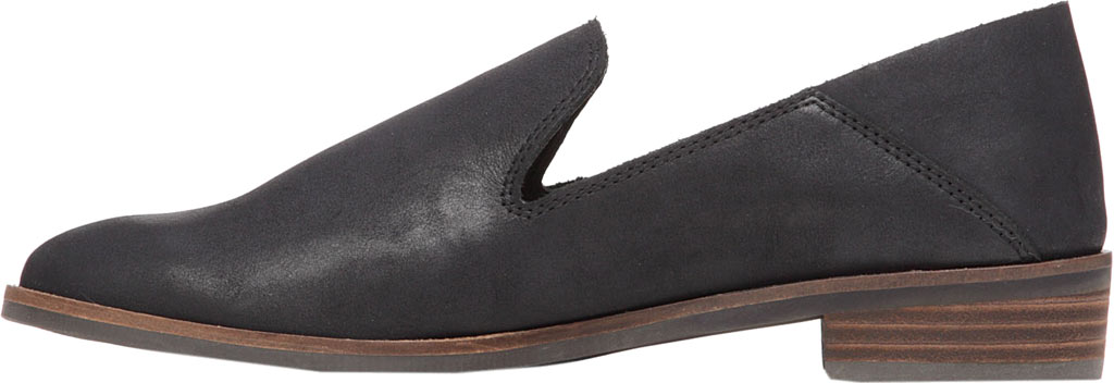 Women's Lucky Brand Cahill Loafer, Black Leather, large, image 3