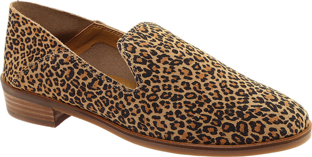 Women's Lucky Brand Cahill Loafer, Eyelash Sophia Leopard Leather, large, image 1