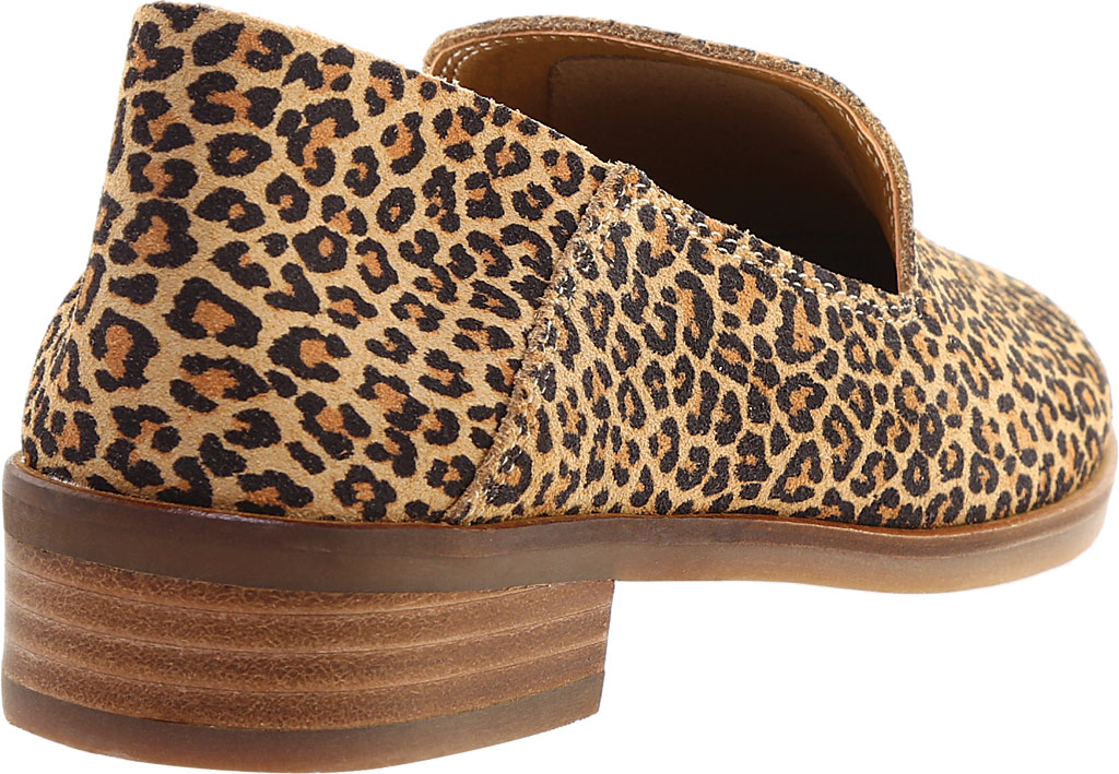 Women's Lucky Brand Cahill Loafer, Eyelash Sophia Leopard Leather, large, image 4