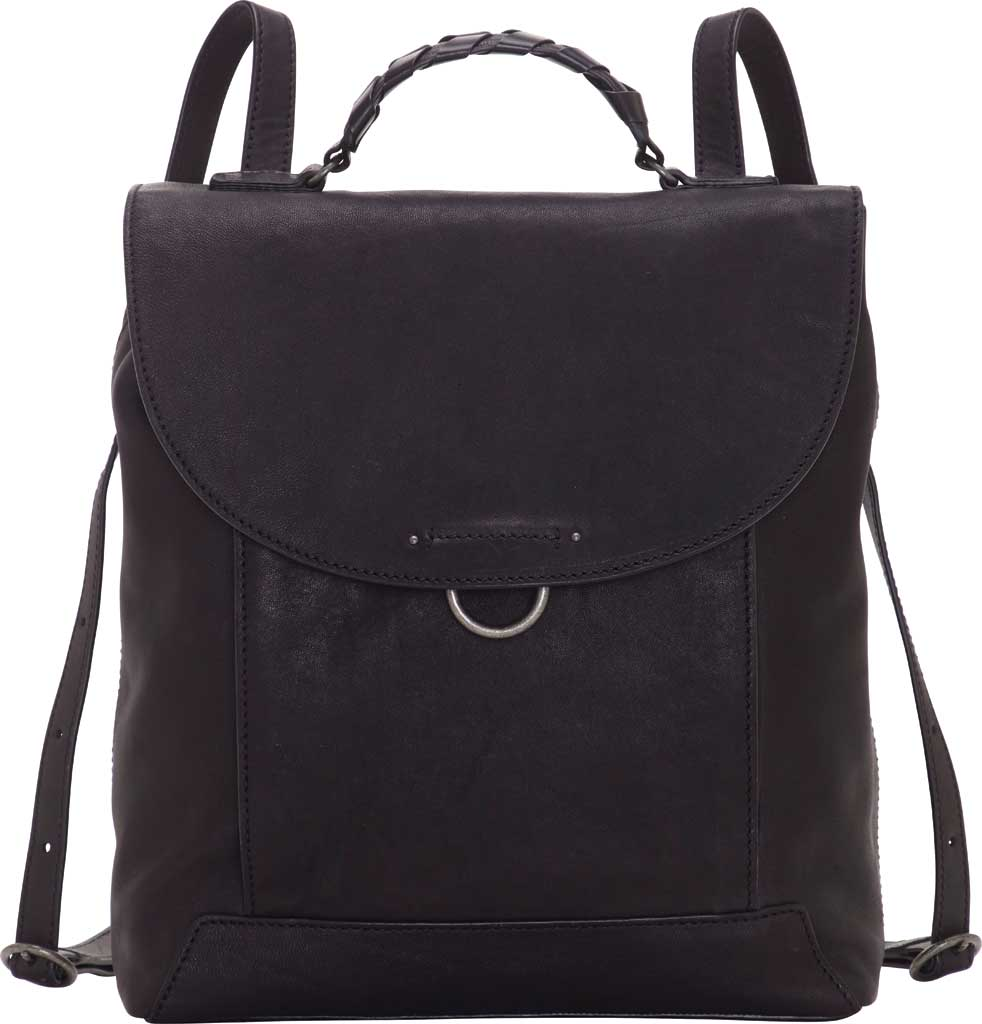 Women's Lucky Brand Vala Backpack, Black Sheep Alaska/Buff Crunch Leather, large, image 1