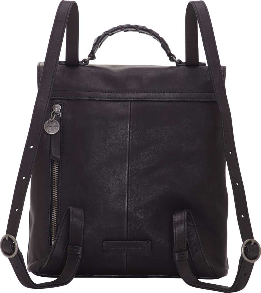 Women's Lucky Brand Vala Backpack, Black Sheep Alaska/Buff Crunch Leather, large, image 2