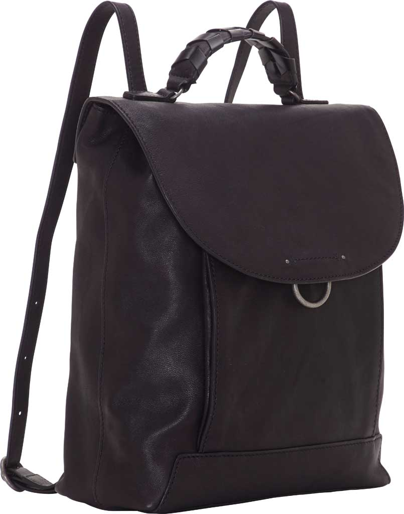 Women's Lucky Brand Vala Backpack, Black Sheep Alaska/Buff Crunch Leather, large, image 4