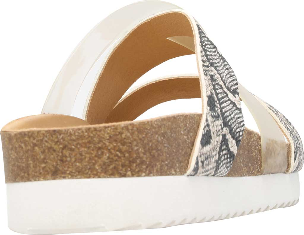 Women's Lucky Brand Hafina Slide, Natural/Clear Alamera Leather/PVC, large, image 4