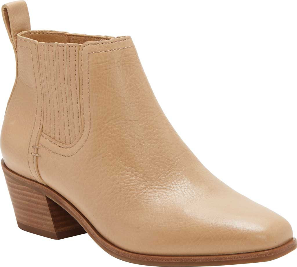 Women's Lucky Brand Idola Western Bootie, Stone Marbled Nappa Leather, large, image 1