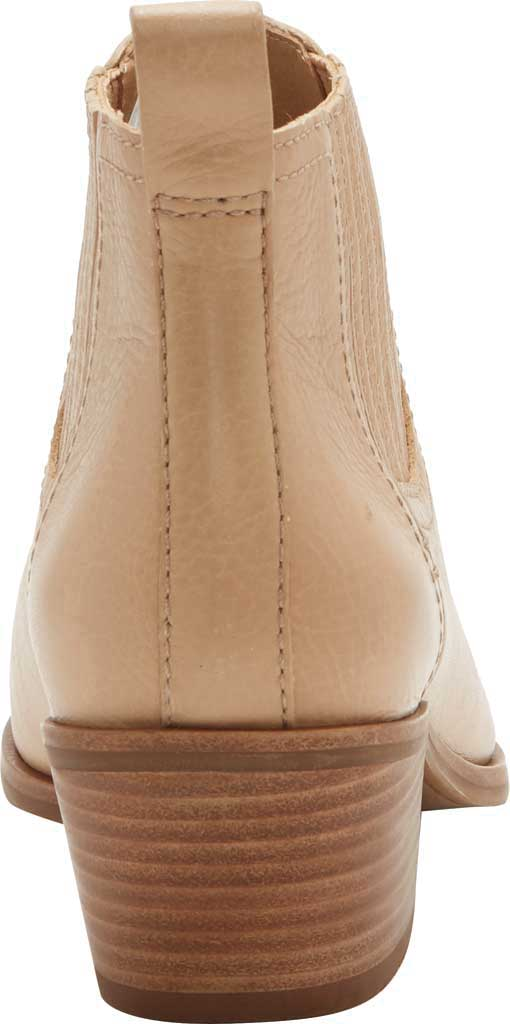 Women's Lucky Brand Idola Western Bootie, Stone Marbled Nappa Leather, large, image 3