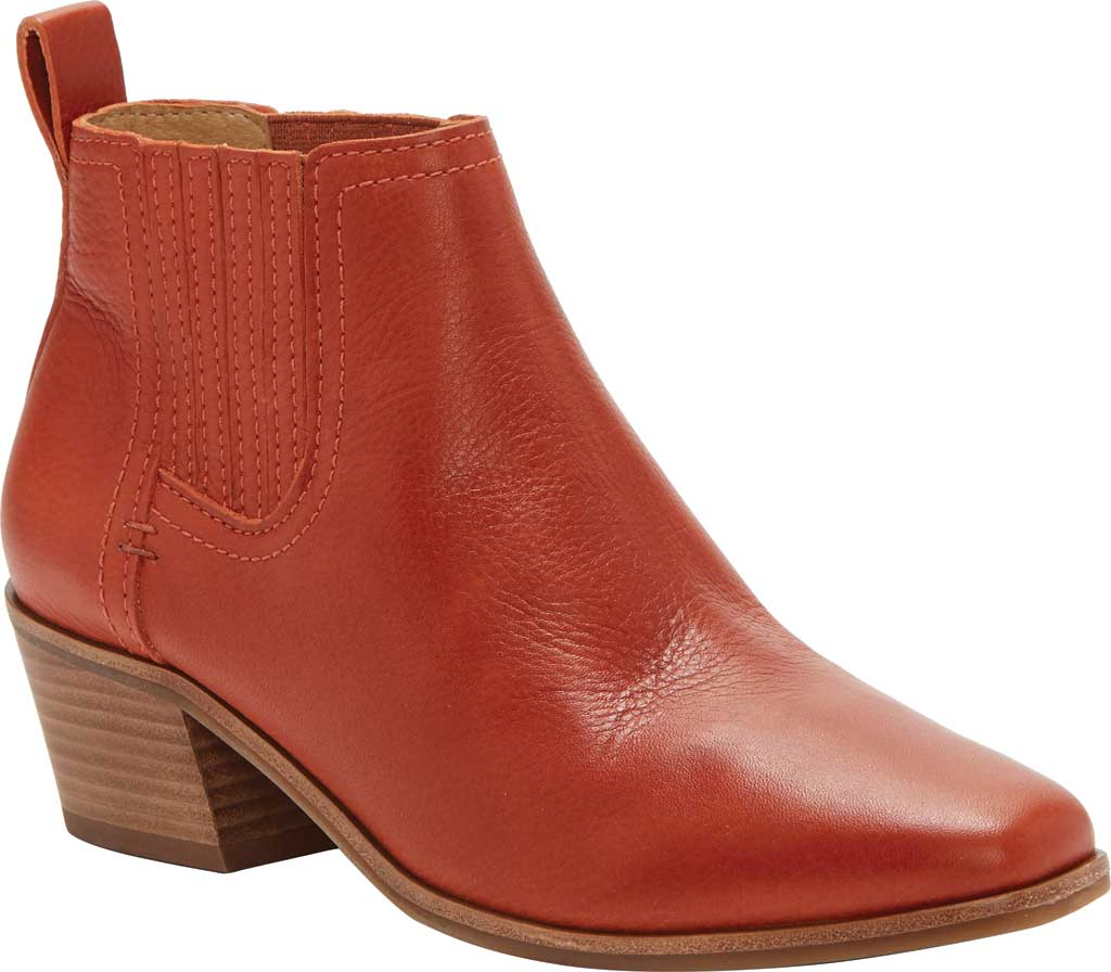 Women's Lucky Brand Idola Western Bootie, Sumac Marbled Nappa Leather, large, image 1