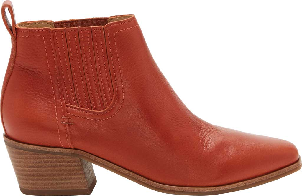 Women's Lucky Brand Idola Western Bootie, Sumac Marbled Nappa Leather, large, image 2
