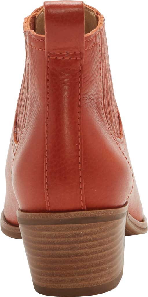 Women's Lucky Brand Idola Western Bootie, Sumac Marbled Nappa Leather, large, image 3