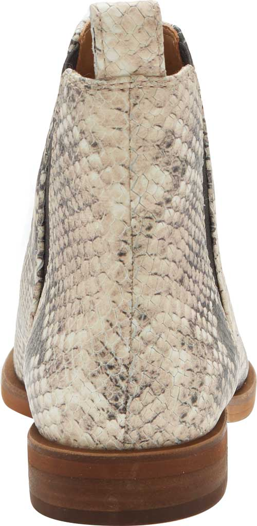 Women's Lucky Brand Haylia Chelsea Boot, Natural/Black Jame Snake Print Leather, large, image 3