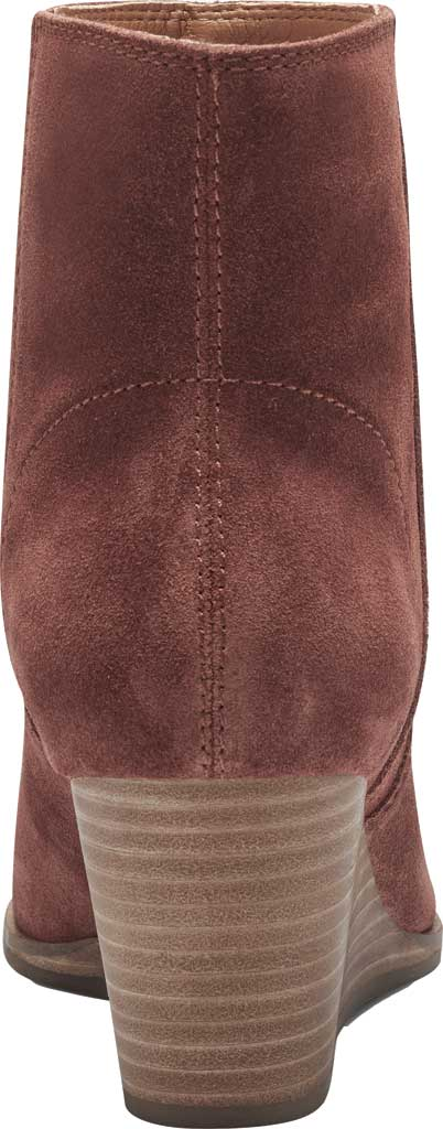 Women's Lucky Brand Wafael Wedge Bootie, Brandy Oiled Suede, large, image 3