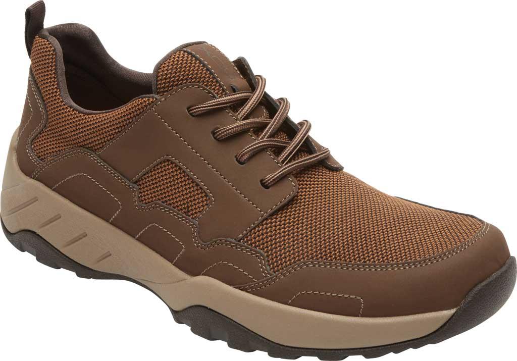 Men's Rockport XCS Riggs Lace Up Shoe, Tan PU/Mesh, large, image 1