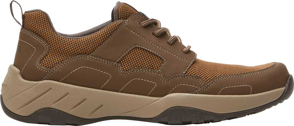 Men's Rockport XCS Riggs Lace Up Shoe, Tan PU/Mesh, large, image 2