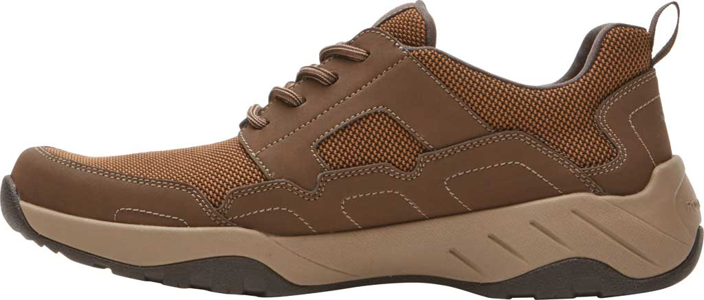 Men's Rockport XCS Riggs Lace Up Shoe, Tan PU/Mesh, large, image 3