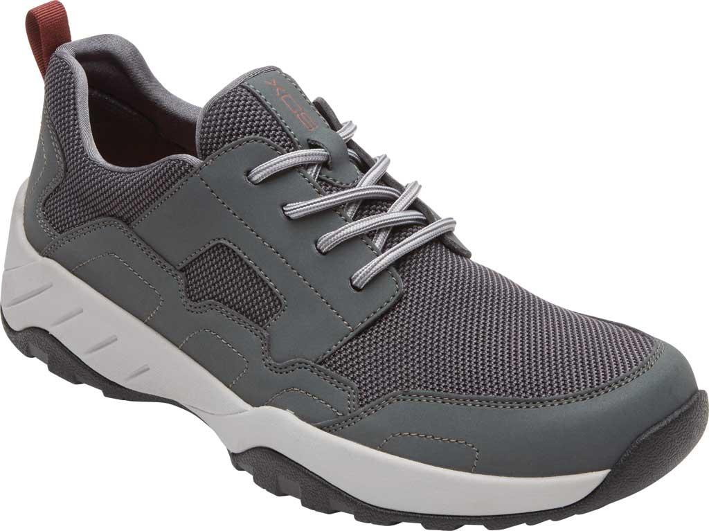 Men's Rockport XCS Riggs Lace Up Shoe, Magnet PU/Mesh, large, image 1